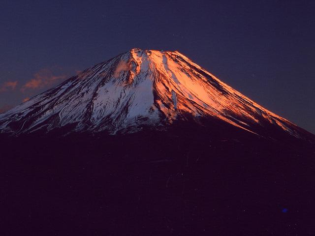 富士山(精進湖)