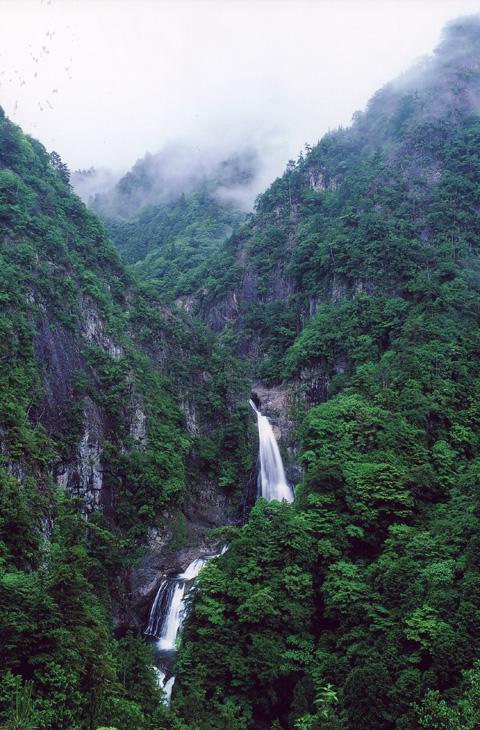 奈良県 不動七重滝