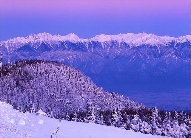 美ヶ原の冬