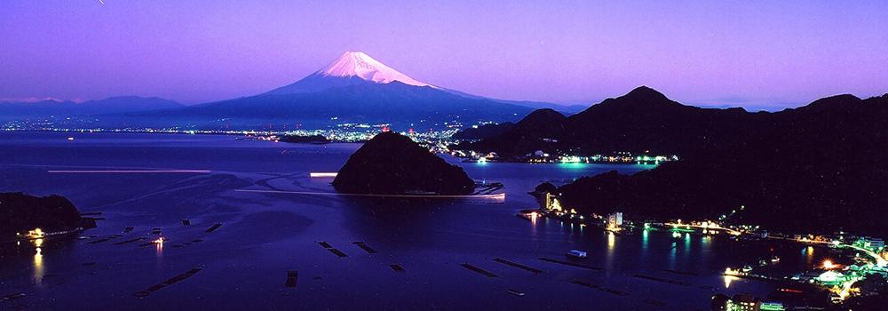富士山(沼津市 三津浜)