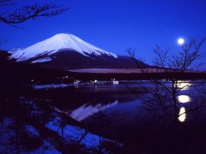 富士山(山中湖畔)