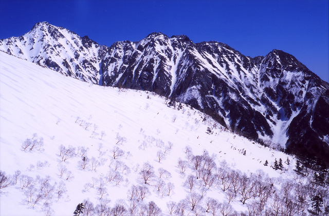 穂高・明神岳