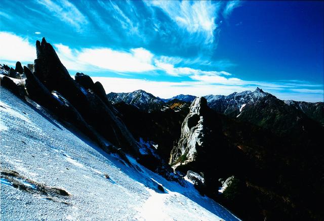北アルプス 燕岳