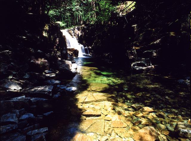 田立の滝群 鶴翼滝