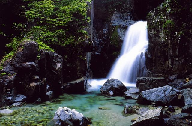 付知峡 観音滝