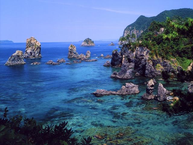北長門海岸 青海島