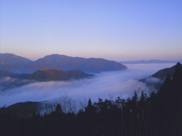 朝来市 立雲峡